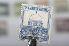 Oude zegel van Palestina royalty-vrije stock foto