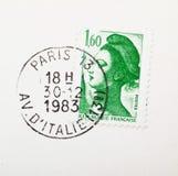 Oude zegels en postzegel Royalty-vrije Stock Fotografie