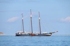 Oude Zeilboot in Nederland Royalty-vrije Stock Foto's
