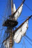 Oude zeilboot, Stockholm, Zweden Royalty-vrije Stock Afbeeldingen