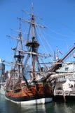 Oude Zeilboot in Sydney Stock Fotografie