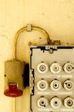 Oude zekeringkast 02 royalty-vrije stock fotografie