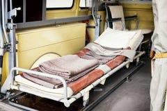 Oude ziekenwagen Royalty-vrije Stock Foto