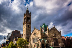 Oude Zuidenkerk, in Boston, Massachusetts stock foto