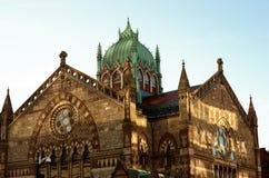 Oude Zuidenkerk in Boston, Massachusetts, de V.S. stock foto