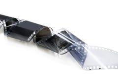 Oude zwart-witte film Stock Foto's