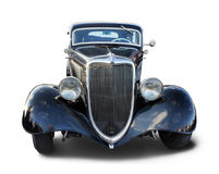 Oude zwarte Auto stock foto's