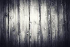 Oude zwarte houten textuur Royalty-vrije Stock Foto's
