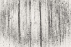 Oude zwarte houten textuur Stock Foto
