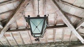 Oude zwarte lantaarn