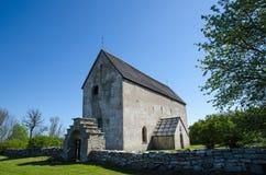 Oude Zweedse kerk Royalty-vrije Stock Foto's