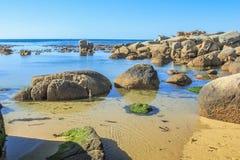 Oudekraal海滩开普敦 库存照片