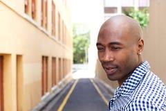 Ouder Afrikaans Amerikaans mannelijk model Royalty-vrije Stock Foto's