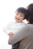 Ouder en kind Royalty-vrije Stock Afbeeldingen