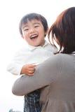 Ouder en kind Royalty-vrije Stock Fotografie