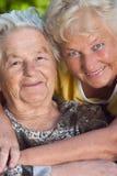 Ouderlijke liefde Stock Afbeeldingen