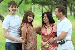 Ouders en kinderen Royalty-vrije Stock Afbeelding