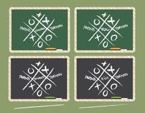 Ouders en Leraren die Vennootschap samenwerken vector illustratie
