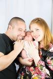 Ouders en zoon Royalty-vrije Stock Afbeelding