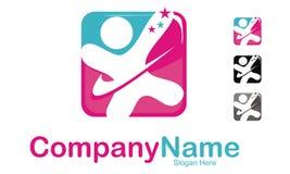 Ouderschapzorg Logo Design Template Royalty-vrije Stock Foto's