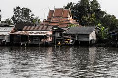 ouderwets in amphawa Royalty-vrije Stock Afbeelding
