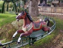 Ouderwets carrouselpaard royalty-vrije stock fotografie