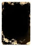 Ouderwets fotoframe Stock Fotografie