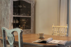 Ouderwets meubilair Royalty-vrije Stock Foto