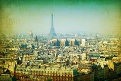 Ouderwets Parijs Stock Afbeeldingen