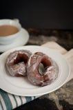 Ouderwetse Cake Donuts Royalty-vrije Stock Fotografie