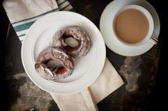 Ouderwetse Cake Donuts Royalty-vrije Stock Foto