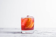 Ouderwetse Cocktail royalty-vrije stock afbeelding