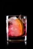Ouderwetse Cocktail stock afbeelding