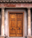 Ouderwetse deur Royalty-vrije Stock Afbeeldingen
