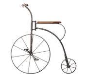 Ouderwetse fiets Royalty-vrije Stock Foto