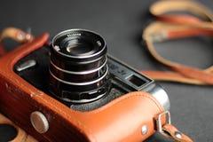 Ouderwetse filmcamera Royalty-vrije Stock Afbeeldingen