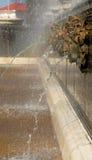 Ouderwetse fontein Stock Foto's
