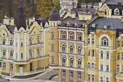 Ouderwetse gebouwen Royalty-vrije Stock Foto's