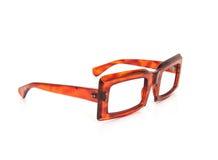 Ouderwetse hoorn-omrande bril Royalty-vrije Stock Afbeelding
