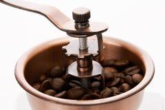 Ouderwetse koffiemolen Stock Afbeelding