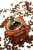 Ouderwetse koffiemolen Royalty-vrije Stock Afbeeldingen