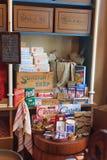 Ouderwetse kruidenierswinkelopslag Royalty-vrije Stock Foto