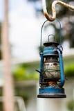 Ouderwetse lantaarn Royalty-vrije Stock Afbeeldingen