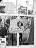 Ouderwetse memorabilia bij de Spoorweg van Gloucester en Warwickshire Stock Afbeeldingen