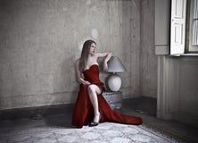 Ouderwetse schoonheid Royalty-vrije Stock Fotografie