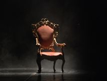 Ouderwetse stoel Royalty-vrije Stock Afbeeldingen