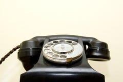 Ouderwetse telefoon stock foto