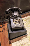 Ouderwetse telefoon Stock Afbeelding