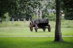 Ouderwetse Wagen Royalty-vrije Stock Fotografie