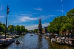 Oudeschans, Amsterdam Stockfotografie